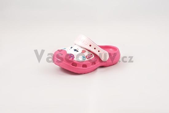 Obrázek z Coqui Maxi candy pink sandál