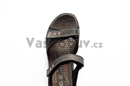 Obrázek IMAC dámský sandál black/black