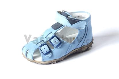 Obrázek Sázavan dětské sandálky sv.modrá
