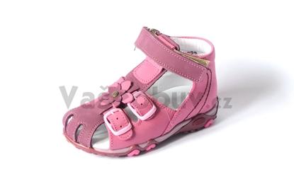 Obrázek Sázavan dětské sandálky Bordo