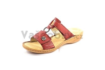 Obrázek Rieker 60829-35 rot pantofel