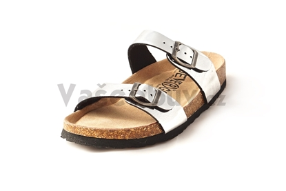 Obrázek Devergo Admete silver pantofle