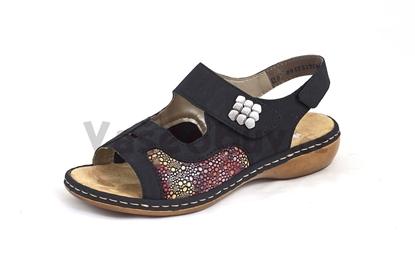 Obrázek Rieker 65989-14 blau obuv hallux