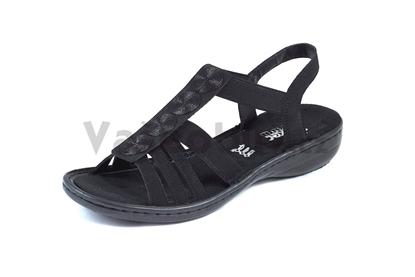 Obrázek Rieker 60870-00 black dámský sandál