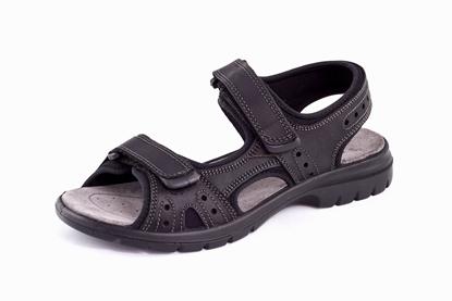 Obrázek Imac 702600 black pánský sandál